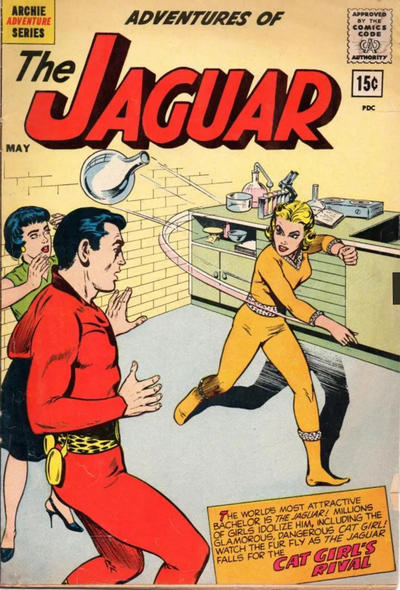 Cover for Adventures of the Jaguar (Archie, 1961 series) #6