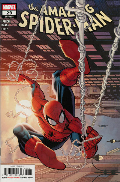 Cover for Amazing Spider-Man (Marvel, 2018 series) #29 (830)