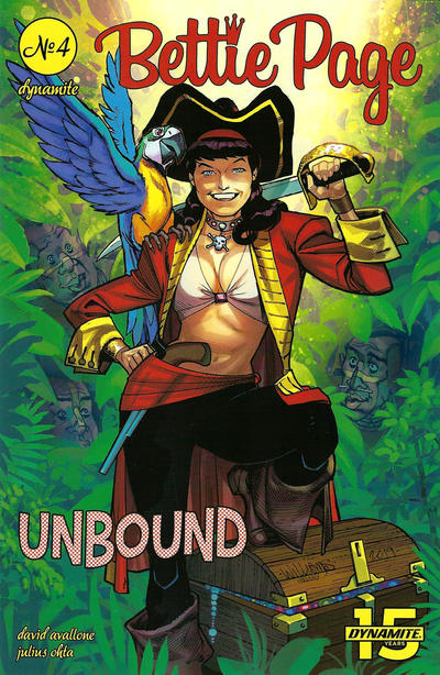 Cover for Bettie Page Unbound (Dynamite Entertainment, 2019 series) #4 [Virgin Photo Cover]