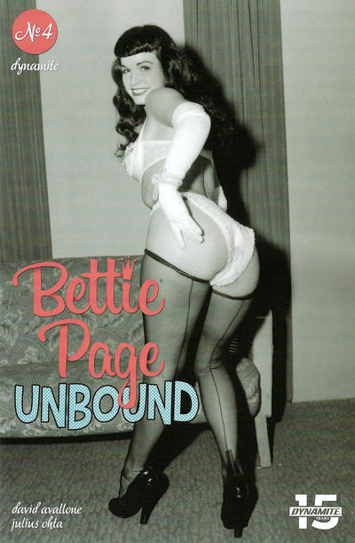 Cover for Bettie Page Unbound (Dynamite Entertainment, 2019 series) #4 [Cover E Photo]