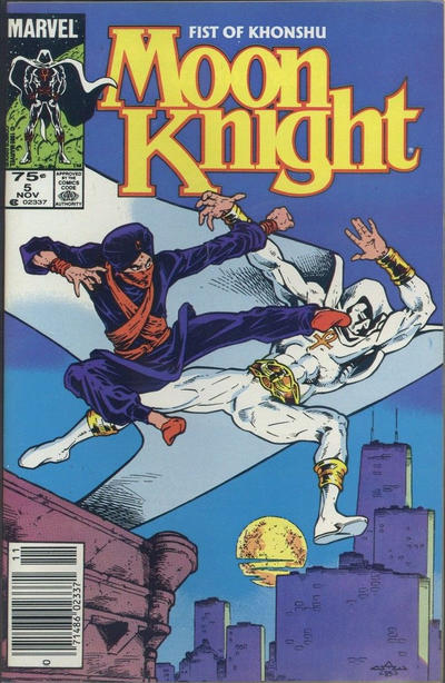 Cover for Moon Knight (Marvel, 1985 series) #5 [Direct]
