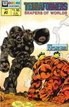 Cover for Terraformers (Wonder Color, 1987 series) #2
