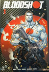 Cover Thumbnail for Bloodshot (2019 series) #1 [Cover F - Carbon Fiber Variant - Jonboy Meyers]