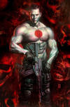 Cover Thumbnail for Bloodshot (2019 series) #1 [Frankies Comics - Virgin Cover - Mike Choi]