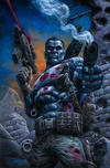 Cover Thumbnail for Bloodshot (2019 series) #1 [Bulletproof Comics and Games NYCC 2019 Virgin Cover - Johnny Desjardins]