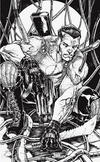 Cover Thumbnail for Bloodshot (2019 series) #1 [Planet Awesome Collectibles NYCC - Virgin Black and White - Adelso Corona]