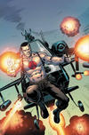 Cover Thumbnail for Bloodshot (2019 series) #1 [Shazam Comics and Toys - Virgin Cover - Joe Gri and Barry Kitson]