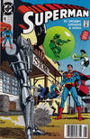 Cover for Superman (DC, 1987 series) #46 [Newsstand]