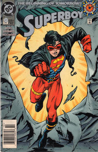 Cover Thumbnail for Superboy (DC, 1994 series) #0 [Newsstand]