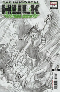 Cover Thumbnail for Immortal Hulk (Marvel, 2018 series) #20 [Second Printing]