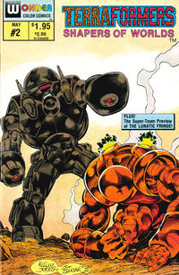Cover Thumbnail for Terraformers (Wonder Color, 1987 series) #2