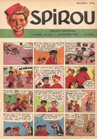 Cover Thumbnail for Spirou (Dupuis, 1947 series) #550