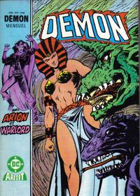 Cover Thumbnail for Démon (Arédit-Artima, 1985 series) #16