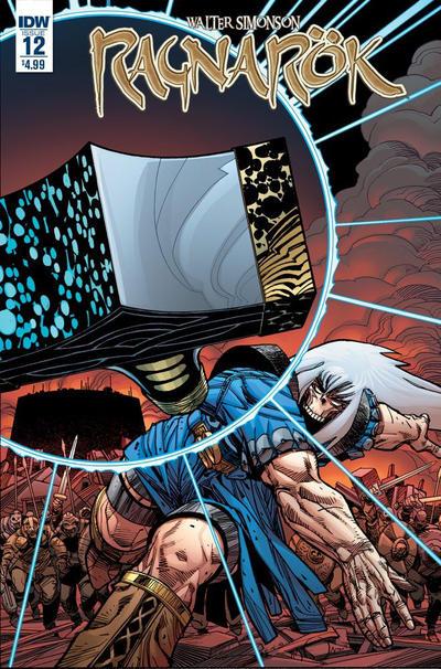 Cover for Ragnarök (IDW, 2014 series) #12