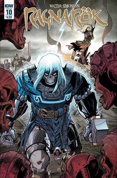 Cover for Ragnarök (IDW, 2014 series) #10