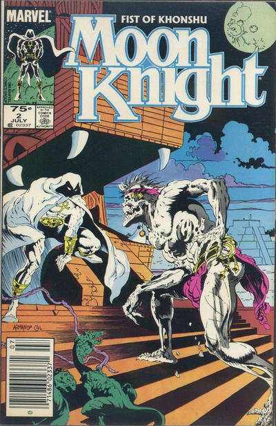 Cover for Moon Knight (Marvel, 1985 series) #2 [Direct]