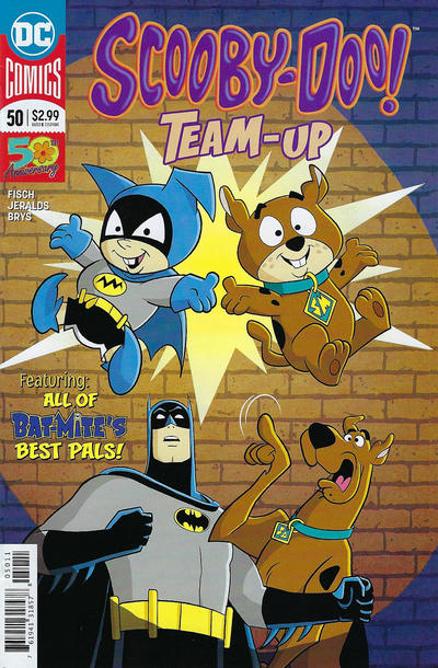 Cover for Scooby-Doo Team-Up (DC, 2014 series) #50