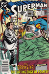 Cover for Superman (DC, 1987 series) #36 [Newsstand]