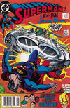 Cover for Superman (DC, 1987 series) #37 [Newsstand]
