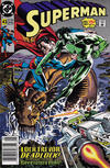 Cover for Superman (DC, 1987 series) #43 [Newsstand]