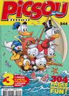 Cover for Picsou Magazine (Disney Hachette Presse, 1972 series) #544