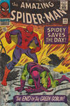 Cover for The Amazing Spider-Man (Marvel, 1963 series) #40 [British]