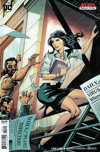 Cover Thumbnail for Lois Lane (DC, 2019 series) #4 [Emanuela Lupacchino DCeased Variant Cover]