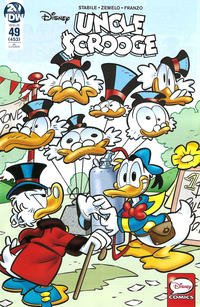 Cover Thumbnail for Uncle Scrooge (IDW, 2015 series) #49 / 453 [Retailer Incentive Cover - Stefano Intini]
