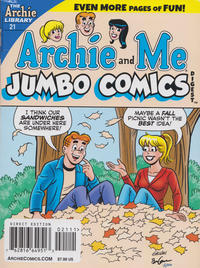 Cover Thumbnail for Archie and Me Comics Digest (Archie, 2017 series) #21