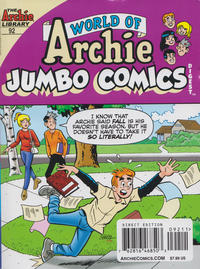 Cover Thumbnail for World of Archie Double Digest (Archie, 2010 series) #92