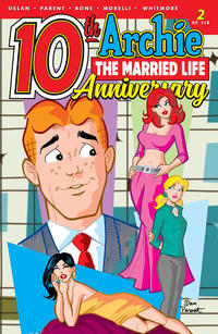 Cover Thumbnail for Archie: The Married Life - 10th Anniversary (Archie, 2019 series) #2 [Cover A - Dan Parent]