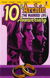 Cover Thumbnail for Archie: The Married Life - 10th Anniversary (Archie, 2019 series) #1 [Cover C - Francesco Francavilla]