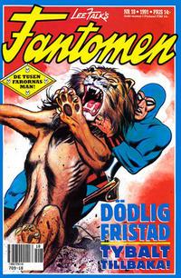 Cover Thumbnail for Fantomen (Semic, 1963 series) #18/1991