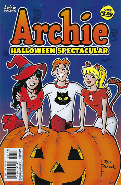 Cover for Archie Halloween Spectacular (Archie, 2019 series)