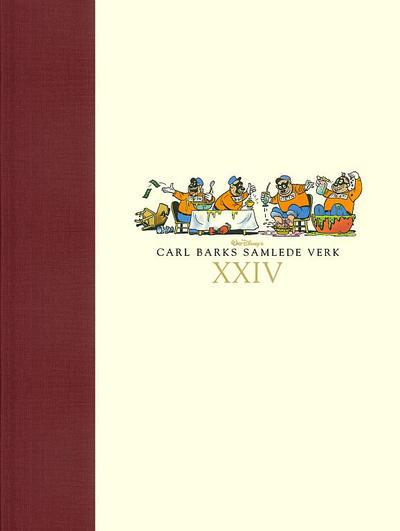 Cover for Carl Barks samlede verk (Hjemmet / Egmont, 2005 series) #24