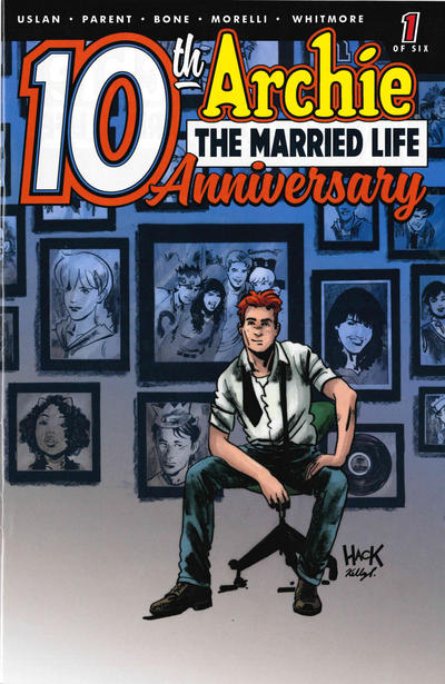 Cover for Archie: The Married Life - 10th Anniversary (Archie, 2019 series) #1 [Cover D - Robert Hack]