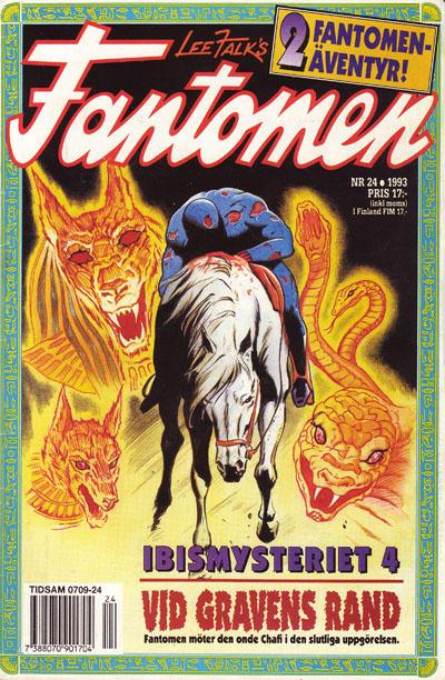Cover for Fantomen (Semic, 1963 series) #24/1992