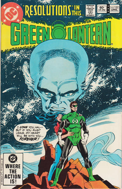 Cover for Green Lantern (DC, 1960 series) #151 [Direct]
