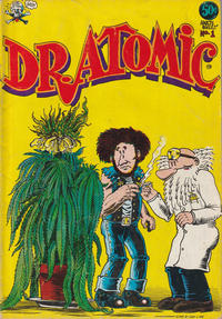 Cover Thumbnail for Dr. Atomic (Last Gasp, 1972 series) #1 [1st print 0.50 USD]