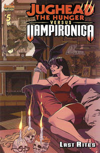 Cover Thumbnail for Jughead the Hunger vs Vampironica (Archie, 2019 series) #5 [Cover A Pat Kennedy]