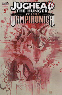 Cover Thumbnail for Jughead the Hunger vs Vampironica (Archie, 2019 series) #5 [Cover B David Mack]