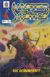 Cover Thumbnail for Master of Mystics (Cultural Institute for the Vedic Arts, 1990 series) #v1#2