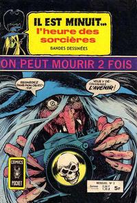 Cover Thumbnail for Il Est Minuit... l'Heure des Sorcières (Arédit-Artima, 1978 series) #3