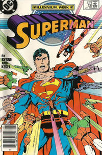 Cover Thumbnail for Superman (DC, 1987 series) #13 [Newsstand]