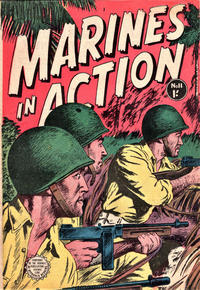 Cover Thumbnail for Marines in Action (Horwitz, 1953 series) #11