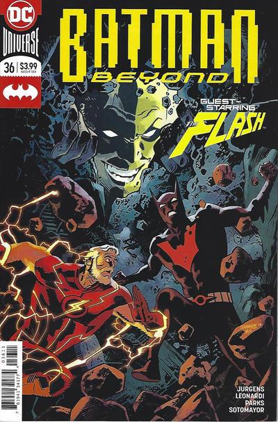 Cover for Batman Beyond (DC, 2016 series) #36