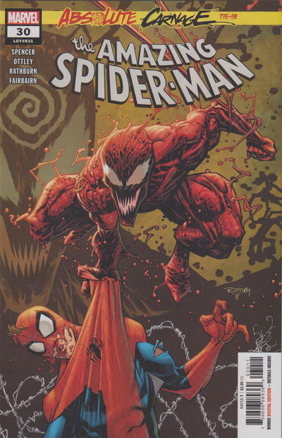 Cover for Amazing Spider-Man (Marvel, 2018 series) #30 (831) [Variant Edition - ComicXposure Exclusive - Shannon Maer Cover]
