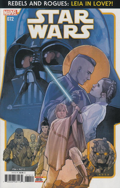 Cover for Star Wars (Marvel, 2015 series) #72