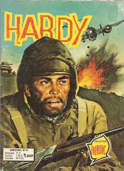 Cover for Hardy (Arédit-Artima, 1971 series) #34