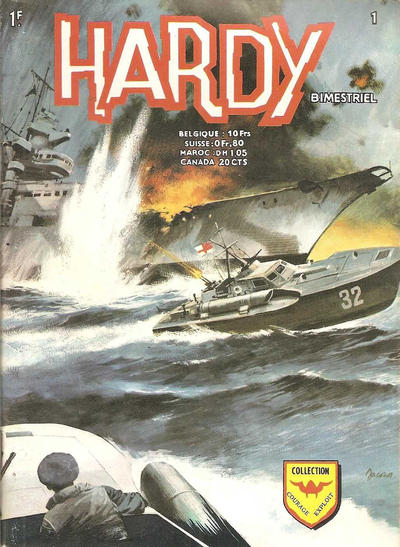 Cover for Hardy (Arédit-Artima, 1971 series) #1